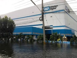 Western Digital-Werk in Thailand