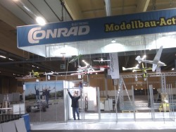 Conrad Messestand Modellbaumesse Wels 2013