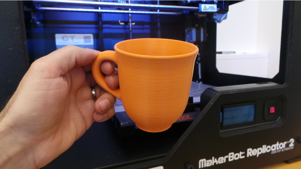 D Printed Coffee Cup Pla